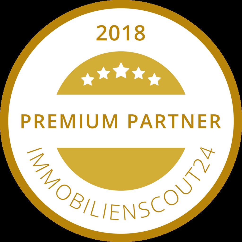 Immobilienscout Premium Partner 2018