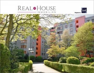 REAL HOUSE: Über den Dächern von Lövenich! Top-sanierte ETW mit Süd-Loggia und Tiefgaragenstellplatz, 50859 Köln / Lövenich (Lindenthal), Etagenwohnung
