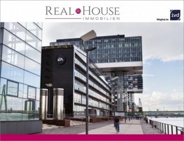 REAL HOUSE: Wohnen im Kranhaus! Ein Wohnerlebnis mit Lifestyle und Exklusivität., 50678 Köln (Innenstadt), Etagenwohnung