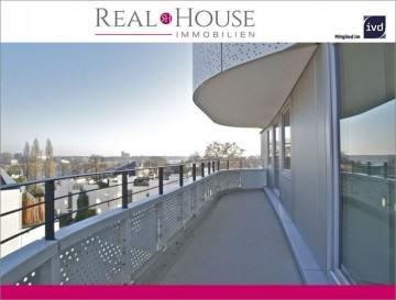 REAL HOUSE: FLOW TOWER – Exklusive 3 Zimmer Wohnung in Bayenthal mit Rheinblick!, 50968 Köln / Bayenthal (Rodenkirchen), Etagenwohnung