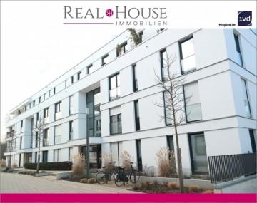 REAL HOUSE:  Exklusive 2 Zi. Wohnung im Wohnquartier PARK LINNÉ, 50933 Köln / Braunsfeld (Lindenthal), Etagenwohnung