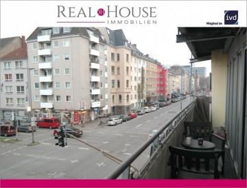 REAL HOUSE: Urban und zentral! Die Top-Kapitalanlage in der Kölner-Innenstadt, 50674 Köln (Innenstadt), Etagenwohnung