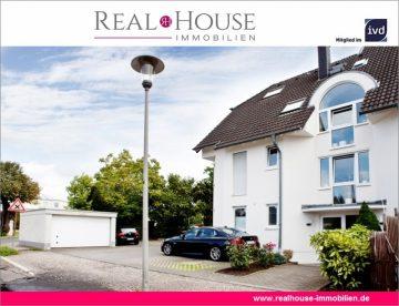 REAL HOUSE: Maisonettewohnung mit Wohlfühlgarantie! 3,5 Zi. mit PKW-Stellplatz und Sonnenbalkon, 50859 Köln / Widdersdorf (Lindenthal), Maisonettewohnung