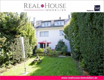 REAL HOUSE: Seltenheit! Traumhaftes Stadthaus mit viel Gestaltungsspielraum und sonnigem Garten, 50969 Köln / Zollstock (Rodenkirchen), Reihenhaus