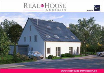 REAL HOUSE: Neubau-DHH in verkehrsberuhigter und zentraler Lage von Beuel zum Top Preis!, 53229 Bonn / Beuel, Doppelhaushälfte