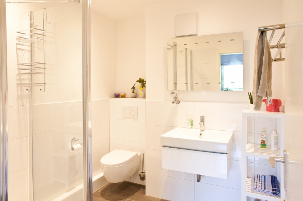 Gästebad mit Dusche - Immobilienmakler Köln | Real House Immobilien