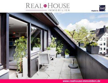 REAL HOUSE: In der Großzügigkeit nicht zu überbieten! Traumobjekt in begehrter Lage von Refrath, 51427 Bergisch Gladbach, Maisonettewohnung