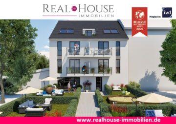REAL HOUSE: Exklusive barrierefreie Neubauwohnung mit Terrasse und Gartenanteil in Sinnersdorf, 50259 Pulheim / Sinnersdorf, Terrassenwohnung
