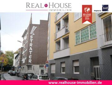 REAL HOUSE: Wohlfühloase in der Südstadt! 3 Zimmer-Wohnung mit Balkon, 50676 Köln / Altstadt-Süd, Etagenwohnung