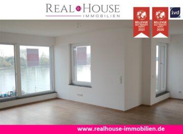 REAL HOUSE: Einzigartig-neu-hochwertig! Traumhafte Neubauwohnung direkt am Rheinufer!, 53332 Bornheim / Widdig, Etagenwohnung