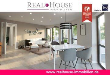 REAL HOUSE: Exklusive & schicke Neubauwohnung in Pulheim-Sinnersdorf mit 3 Zi. & Sonnenloggia, 50259 Pulheim / Sinnersdorf, Etagenwohnung