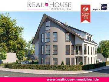 REAL HOUSE: Exklusiv & komfortabel! Neubauwohnung in Pulheim-Sinnersdorf mit 3 Zi. & Sonnenloggia, 50259 Pulheim / Sinnersdorf, Etagenwohnung