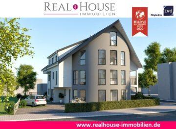 REAL HOUSE: Exklusive Neubau DG-Maisonettewohnung in Sinnersdorf mit Dachloggia & 2 Badezimmern, 50259 Pulheim / Sinnersdorf, Maisonettewohnung